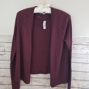 BNWT Ann Taylor Open Front Cardigan Size: S